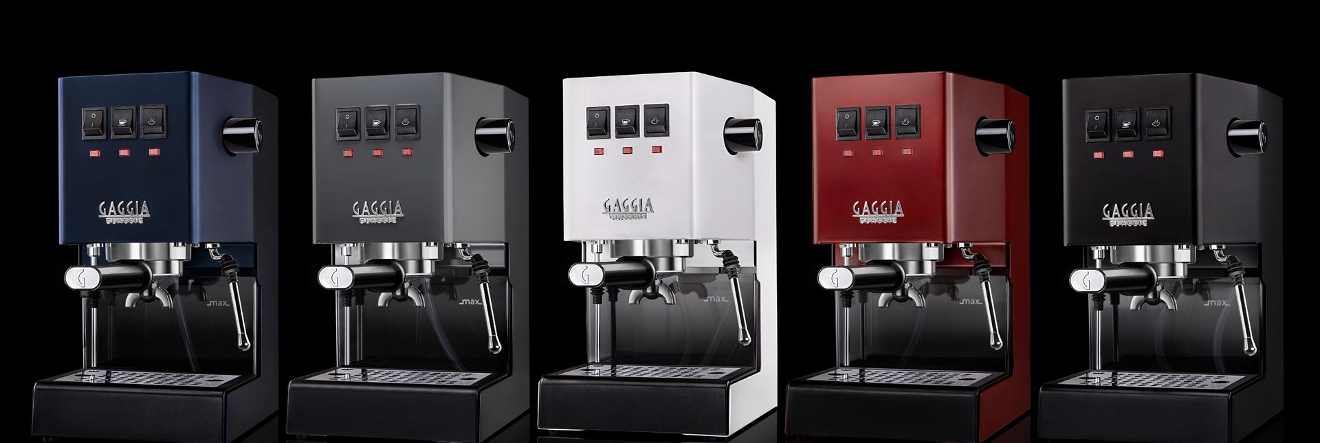 coming soon - Gaggia Classic Colors